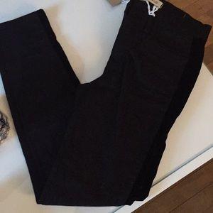 "9"" High-Rise Skinny Jean (Tuxedo Stripe)"